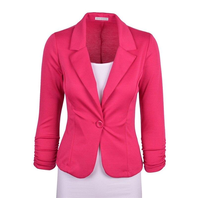 Женский пиджак 2016 Casaco Feminino