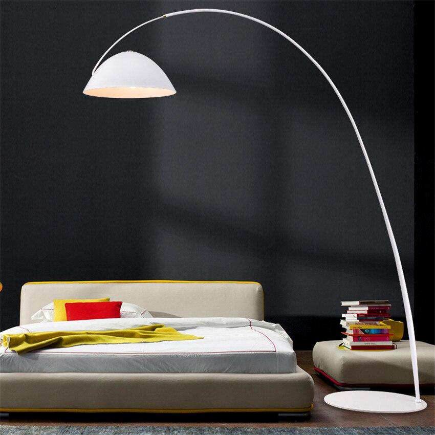 Italienischen designer LOFT LED Boden lichter leuchte led lampen tinte stift moderne wohnzimmer ausstellung halle angeln boden lampe - 5