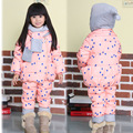 Nuevo 2015 ropa de los niños del invierno outwear de año nuevo traje de down abrigos chaquetas de invierno para niñas bebés niños niños abajo y parkas