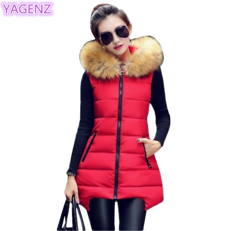 YAGENZ Ženska prsluk velikih dimenzija Nova jesen Zima Moda Ženski - Ženska odjeća