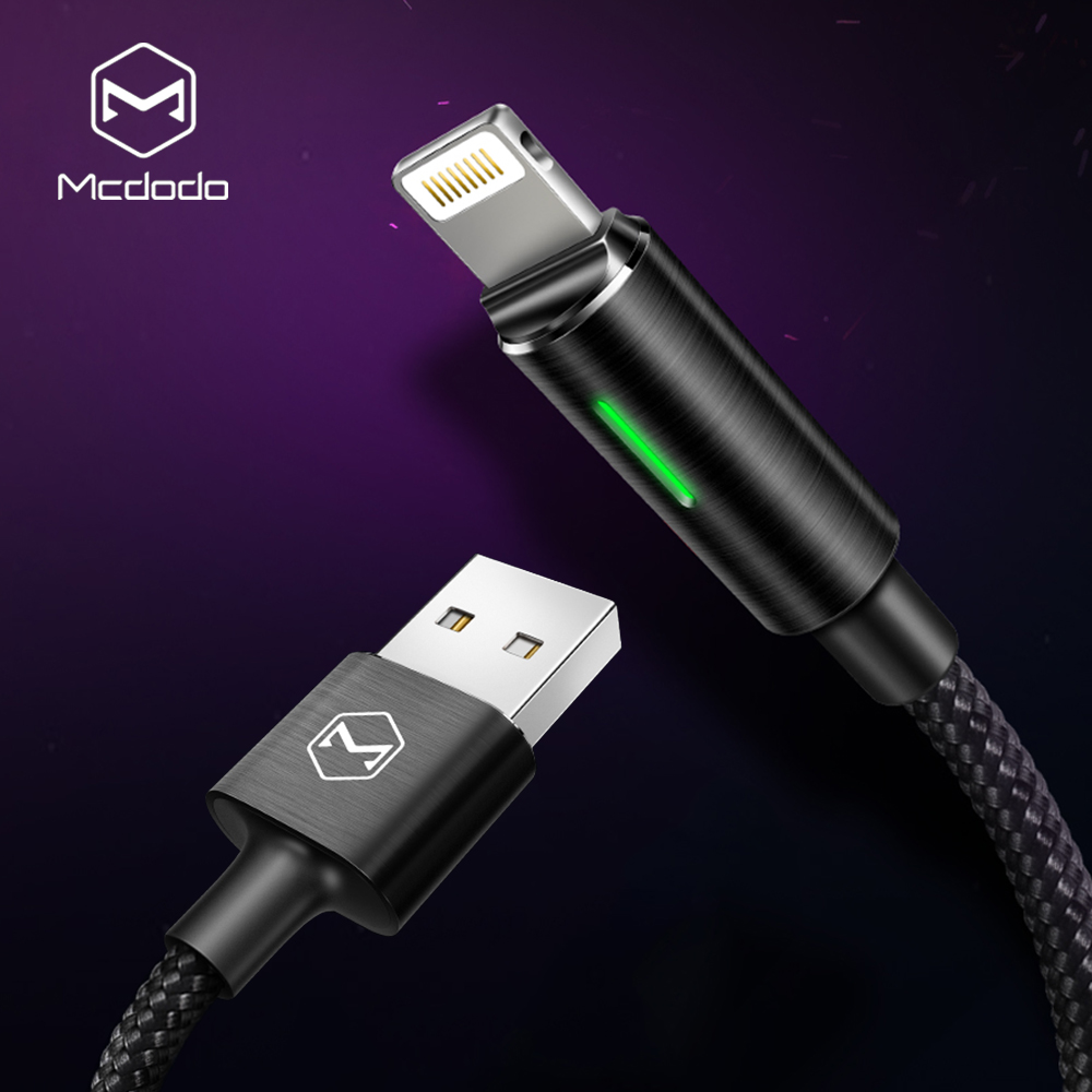 Mcdodo for iPhone X 8 7 Plus Lightning to USB Cable Auto Disconnect Fast Charging Cord for iPhone 6s 5s SE iPad Sync Data Cable