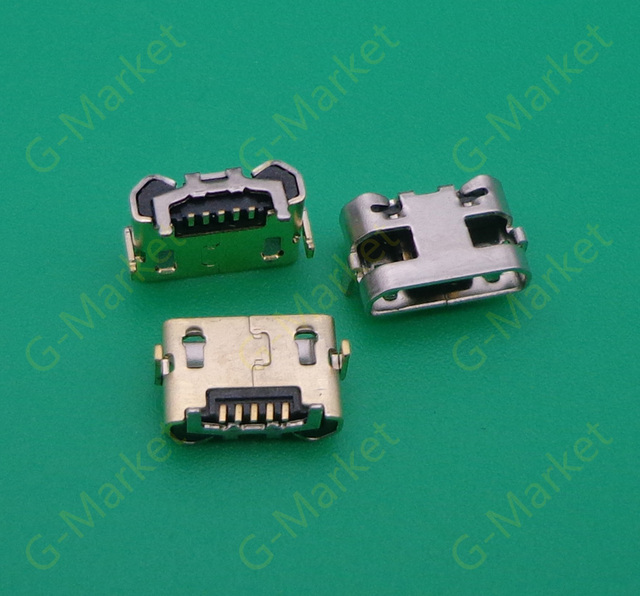 100pcs/lot Micro USB Charging Socket Port Connector for Amazon ...