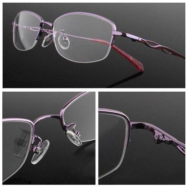 2017 Free Shipping Thick-gold metal women eyewear eye glasses eyeglasses prescription spectacles optical frame oculos