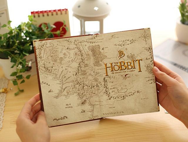 The Hobbit Book Vintage Hardcover for Journals