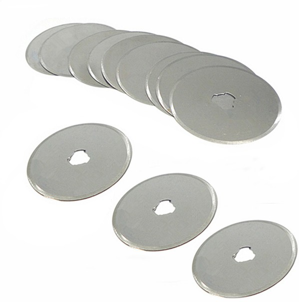 5pc 45mm Rotary Cutter Blades Craft Paper Cut Hand Held Scrapbooking Replacement Spare Blades Fits Olfa Fiskars Clover Mt Blades