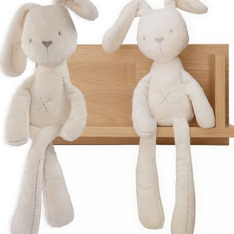 2017 Fashion Soft Stuffed Animals Kids New Rabbit Sleeping Cute Cartoon Plush Toy Stuffed Animal Dolls Children Birthday Gift