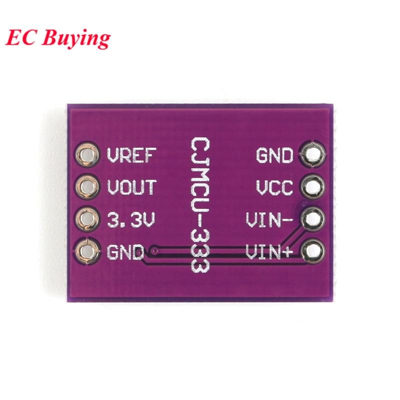 INA333 Module Op Amp Module Human Micro Signal Multifunctional Three Op Amp Precision Instrumentation Board (3)