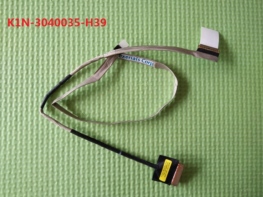 Laptop LCD LVDS Cable For MSI MS-16J1 MS-16J2 GE62 2QC 2QD 2QE 2QF K1N-3040035-H39 GS60 MS16H2 K1N-3040015-V03 New laptop keyboard for msi gp60 2qe 850ne nordic 2qe 852be 2qe 856be belgium 2qe 862jp japan 2qe 871cz czech 2qe 890xtr turkey
