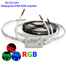 DC12V 24V led flexible strips panel lights LED modules floodlights Waterproof IP68 RGB amplifier