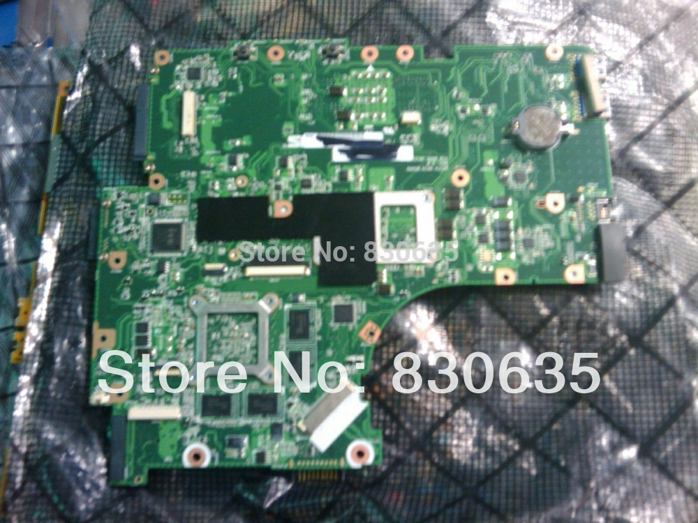 N53TA motherboard tested by system LAPTOP CASE