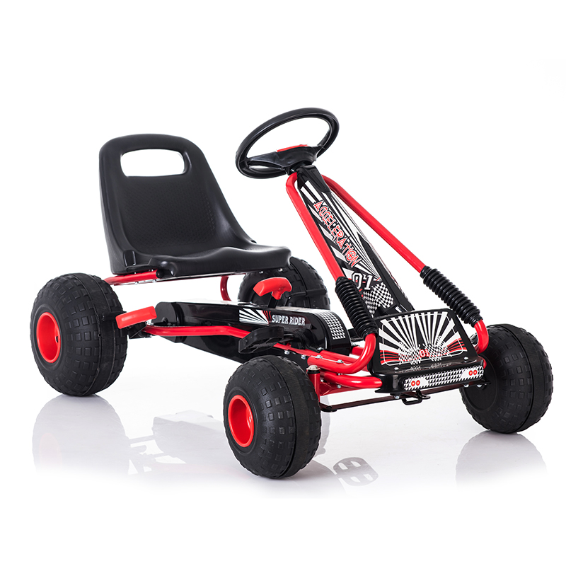 Children Go Karts kids ride on car toy with stable wheels can Drive Reverse ...