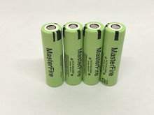MasterFire 5pcs/lot New Original 3.7V 3200mAh NCR18650BM 18650 10A Current Power Tool Batteries Li-Ion Battery For Panasonic
