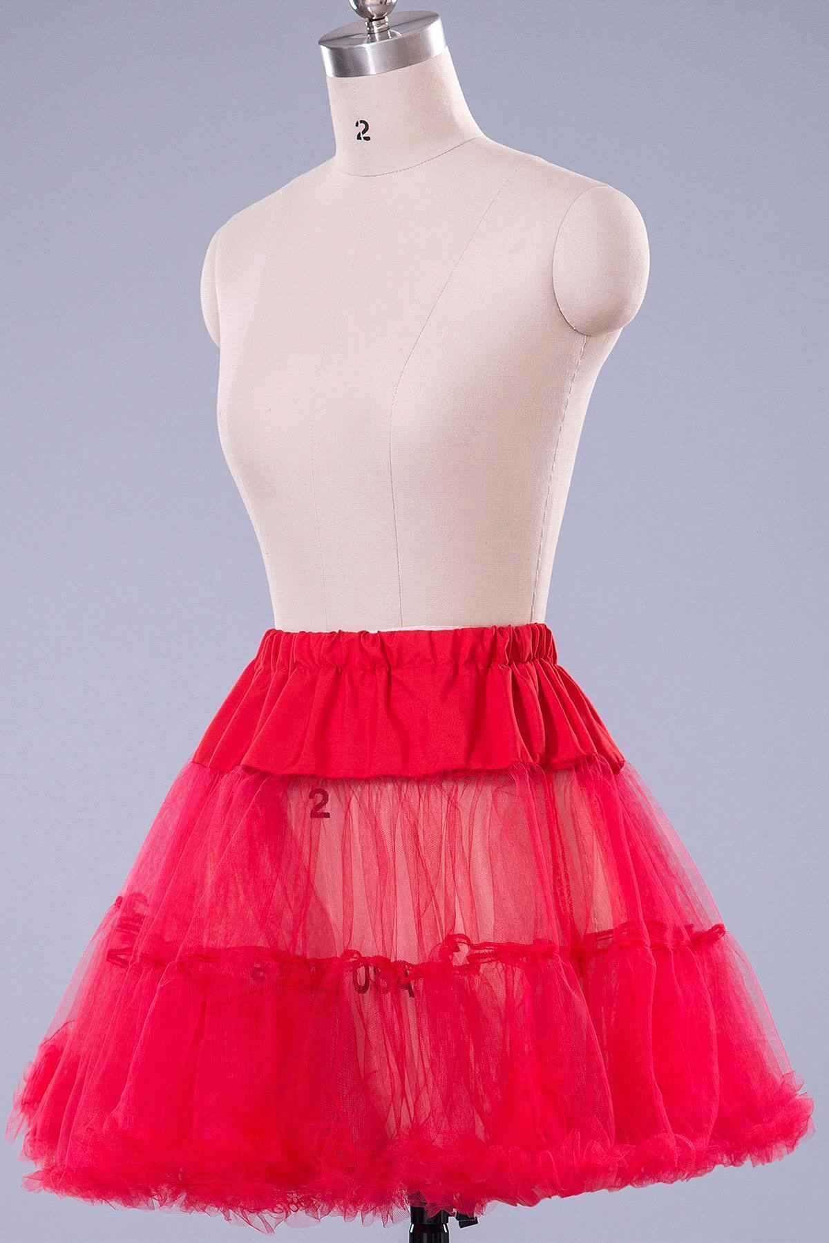 "Short Petticoat 50s Vintage Slip Rockabilly 26/"" Net Underskirt Skirt Wedding UK"