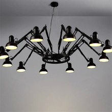 6/9/12/16 Lights Creative Spider Diner Pendant Lights With LED Bulbs Bar / Studio Lamps With Remote Control  Free Shipping