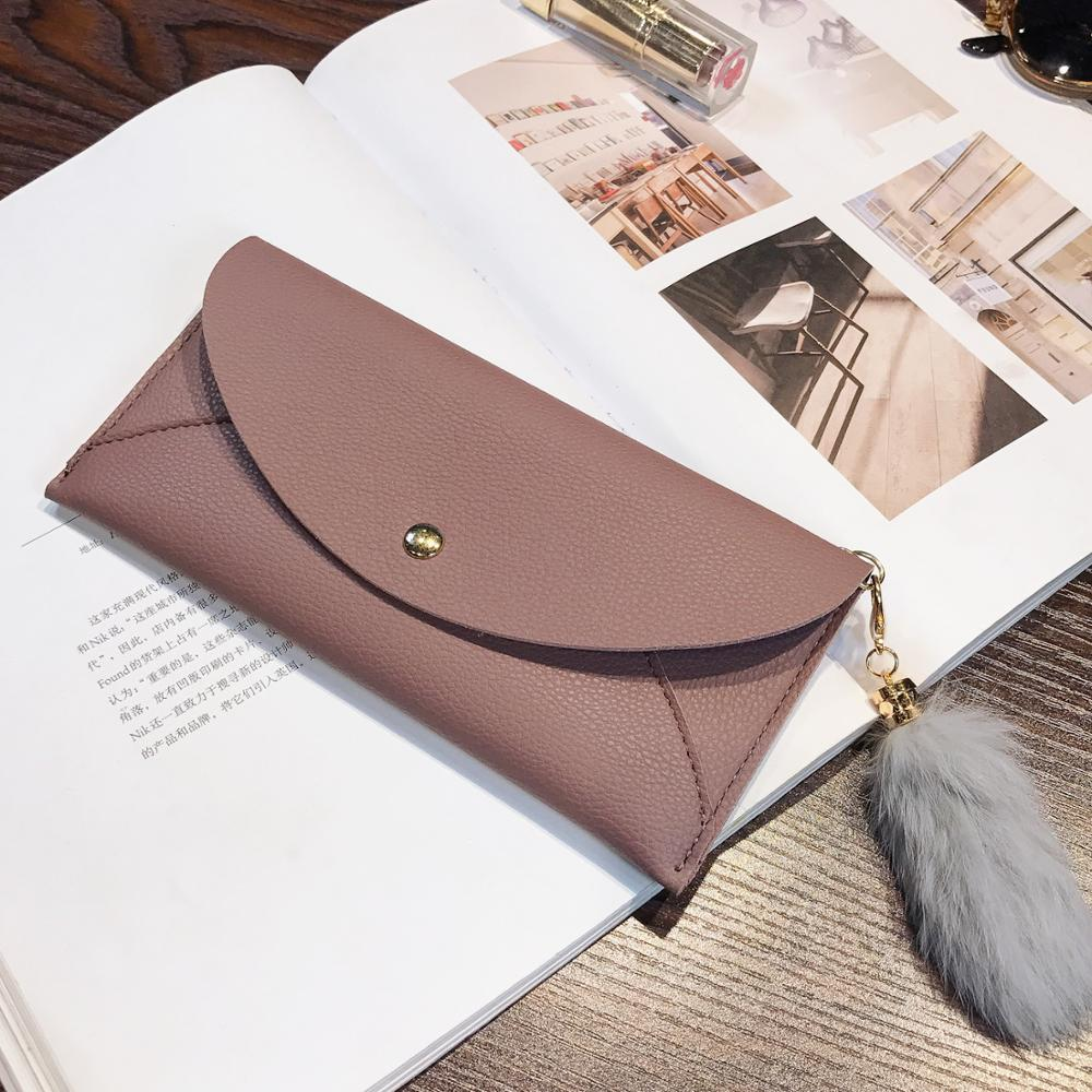 Women Long Wallet Purses Tassel Fashion Coin Purse Card Holder Female High Quality Clutch Money Bag PU Leather Wallets 315