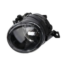 цена на Front Bumper Convex Len Driving Lamp Fog Light Right For VW Golf GTI Jetta MK5 Tiguan  EOS Caddy With H11 plug