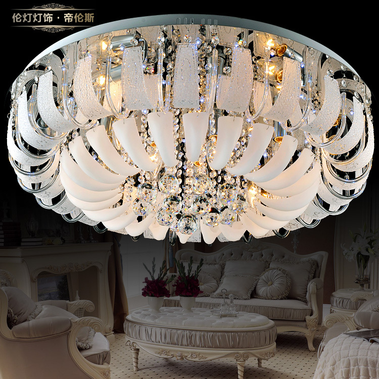 Modern High End Crystal Ceiling Upside Gorgeous French Interior Lighting Fixtures Master Bedroom Living Room Atmosphere In Kitchen Sinks From Home