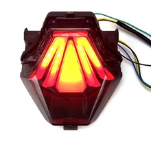 Motorcycle Integrated Tail Light Rear Lamp For Yamaha R3 R25 MT07 MT25 Y15ZR EXCITER150 KING150 13-15 Brake Stop Turn Signals