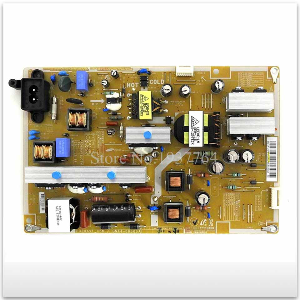 good working for used Power Supply Board UA60EH6000R BN44-00500A PD60AV1-CSM 95% new original for power supply board used ua46f5080arl46sf dsm bn44 00610a bn44 00610d pslf111505a good working