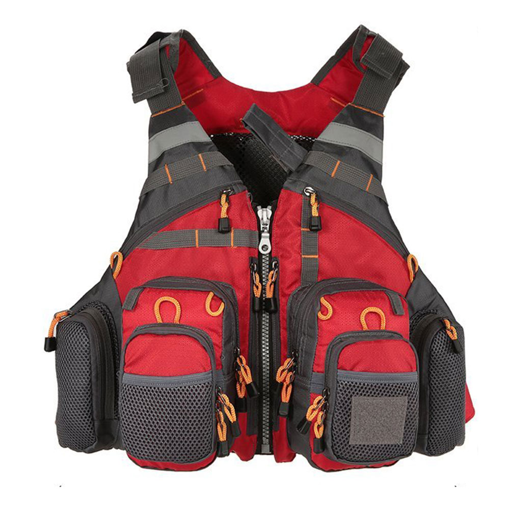 Fishing Sailing Windsurfing Adult Oxford Cloth Aid Adjustable Belt Canoeing Vest Floating Strong Buoyancy Life Vest Protection Fishing Sailing Windsurfing Adult Oxford Cloth Aid Adjustable Belt Canoeing Vest Floating Strong Buoyancy Life Vest Protection