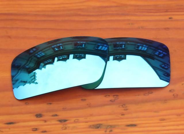 Gelo Azul Espelho Lentes de Reposição Para óculos Gascan Polarizada Pequeno Quadro  Óculos De Sol 100 e698bb6895