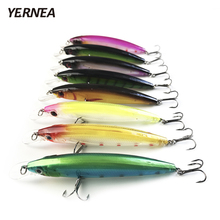 Yernea 8pcs/Lot Swimbait Fishing Lures Crankbait Hard Bait Slow Wobbler Fishing Tackle Isca Artificial Lures Accessories 8Colors sealurer 1pcs fishing lures swimbait crankbait hard bait slow 5colors fishing wobbler isca artificial lures fishing tackle