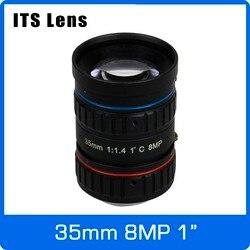 1 cal 8MP jego obiektyw 35mm Ultra Starlight F1.4 C mocowanie do elektronicznej policji lub kamery drogowej