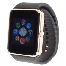 Smart watch gt08 bluetooth-konnektivität für iphone android telefon intelligente elektronik mit sim-karte smartwatch telefon nachrichten drücken