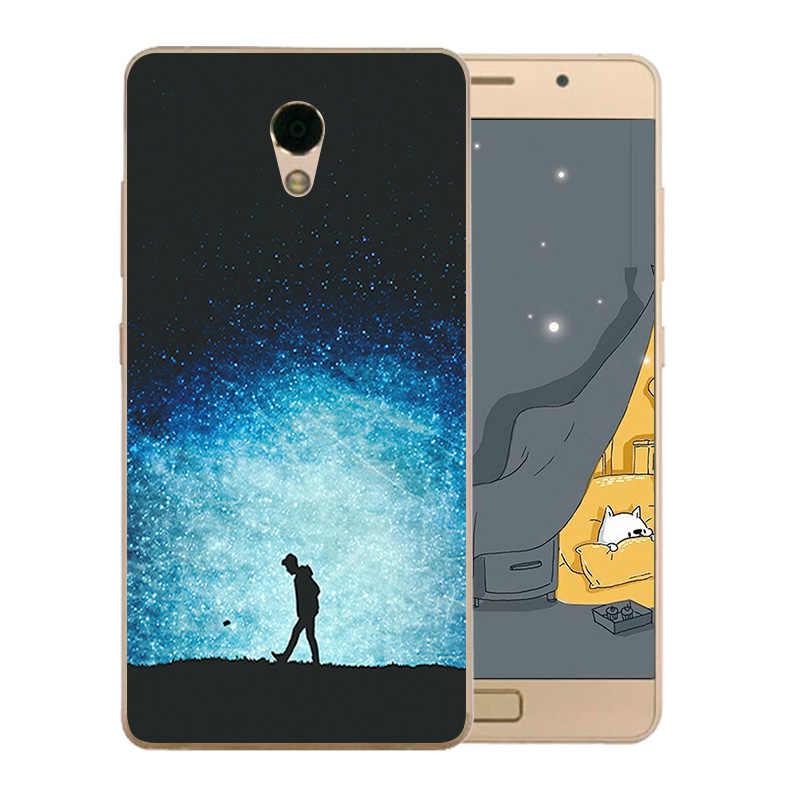 Из мягкой искусственной кожи (термополиуретан) для Lenovo Vibe P2 P2a42 чехол для телефона с узором ночного неба для Lenovo Vibe P2/P2 P2c72 P2a42 силиконовый чехол Крышка