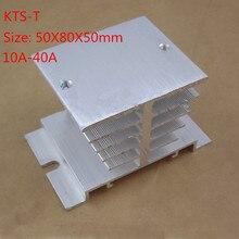 Рассеиваемая новые, ssr однофазный твердотельные радиатора радиатор реле алюминиевый без шт.