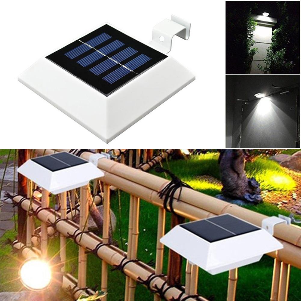 solar powered gutter light part 46 4x led solar light outdoor solar powered 4