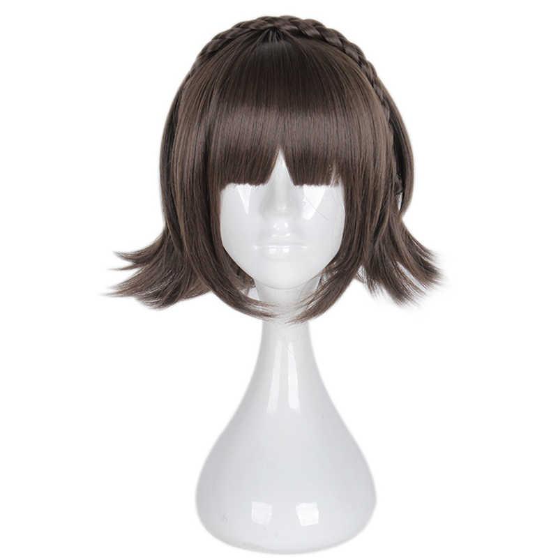 Аниме Persona 5 Makoto Niijima парик косплей костюм женщины короткие волосы парики для вечеринок на Хэллоуин