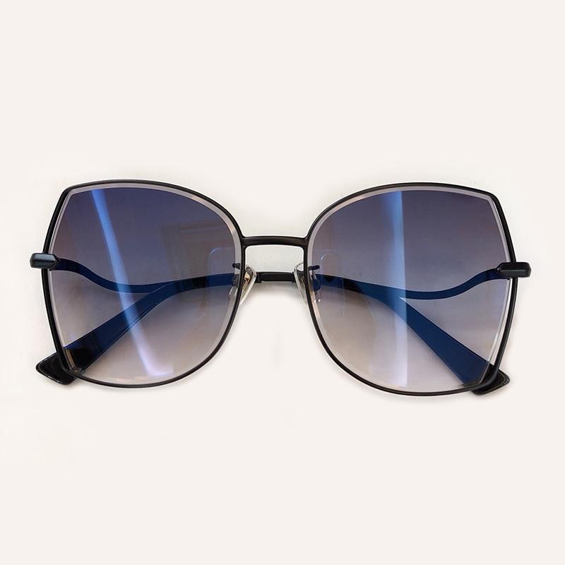 no 6 no Box Legierung 5 no 4 1 No Sol De no Mode Mit 2019 Marke Frauen Feminino Quadrat 2 Luxus 3 Designer Rahmen Oculos Brillen no Verpackung Sonnenbrille qFnf40H