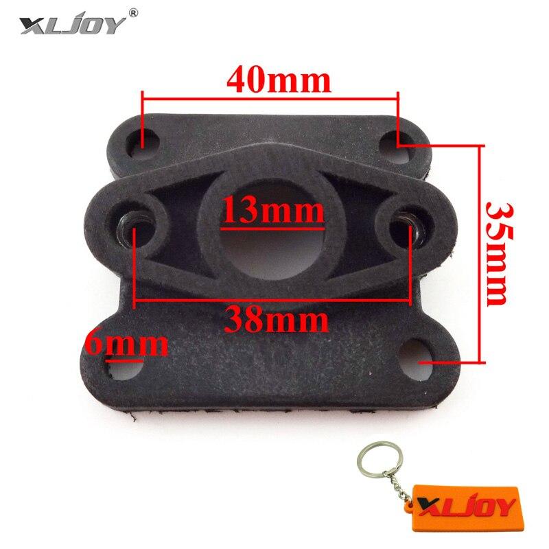 Xljoy Pocket Dirt Bike Tubo Di Aspirazione Collettore Di Aspirazione Per 47cc Motore 49cc Carburatore Carb Minimoto Mini Moto Atv Quad 4 Wheeler Ineguale Nelle Prestazioni