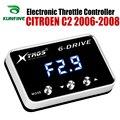 Potente Reforço Acelerador Acelerador Eletrônico velocidade do carro Controlador de Corrida Para CITROEN C2 2006-2008 Peças Tuning Acessório