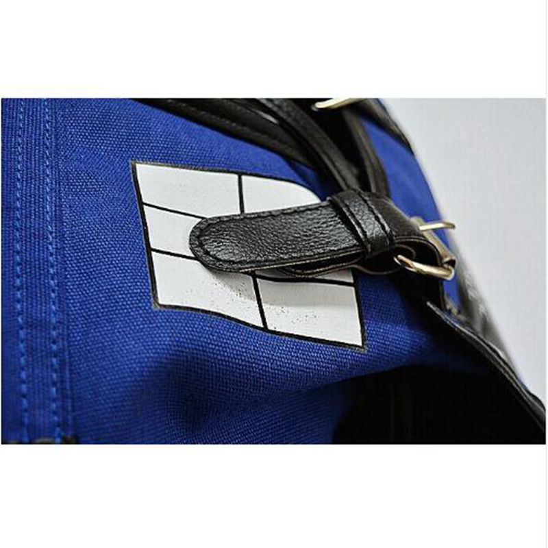 Doctor Who Canvas Printed Anime Dr Who Tardis Buckle Slouch Children School Bag Mochila Feminina Public Call Police Box Backpack #4