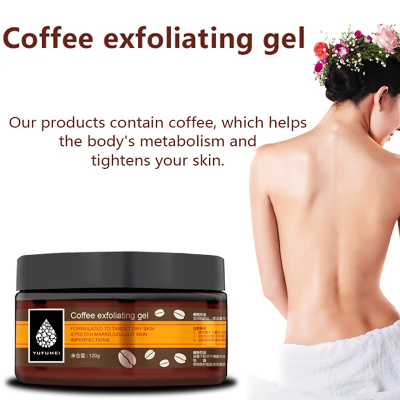 Exfoliating Gel Natural Body Exfoliator Whitening Brightening Peeling Cream Gel Body Scrub Removal