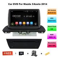 9 Inch 1024 600 Quad Core Android 5 11 Car DVD Radio For Mazda 3 Axela