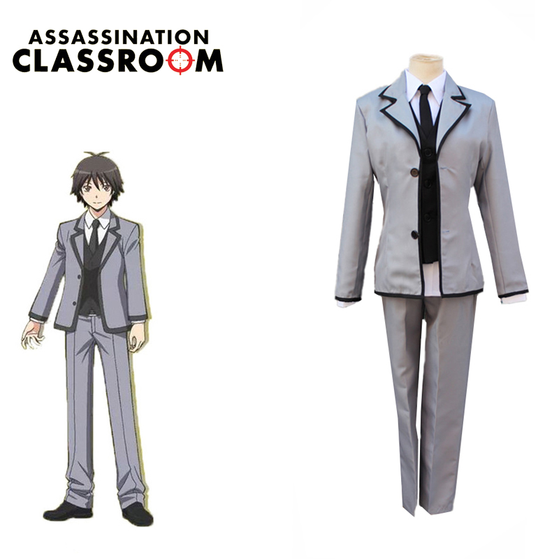 Chiba Ryunosuke Cosplay Popular Assassination Classroom Japanese Anime Cosplay Unisex Full School Uniforms Suit Set Costumes