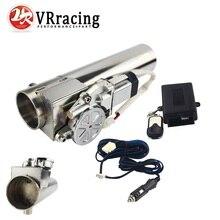 VR   Universal 2.5 ou 3 tuyau déchappement électrique I découpe de tuyau avec télécommande vanne de gros pour Jeep Wrangler
