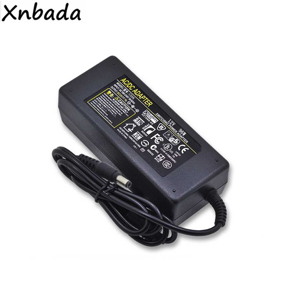 Hohe Qualität Led Netzteil Adapter 12 V 1A 2A 3A 5A 6A 7A 8A 10A 12.5A Led Transformator Für 5050 5730 2835 3014 Led Streifen