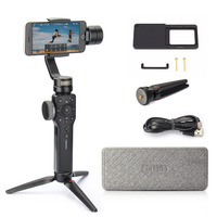 Zhiyun Smooth 4 3 Axis Handheld Gimbal Stabilizer For IPhone Samsung Etc Smartphone Xiaomai Plate For