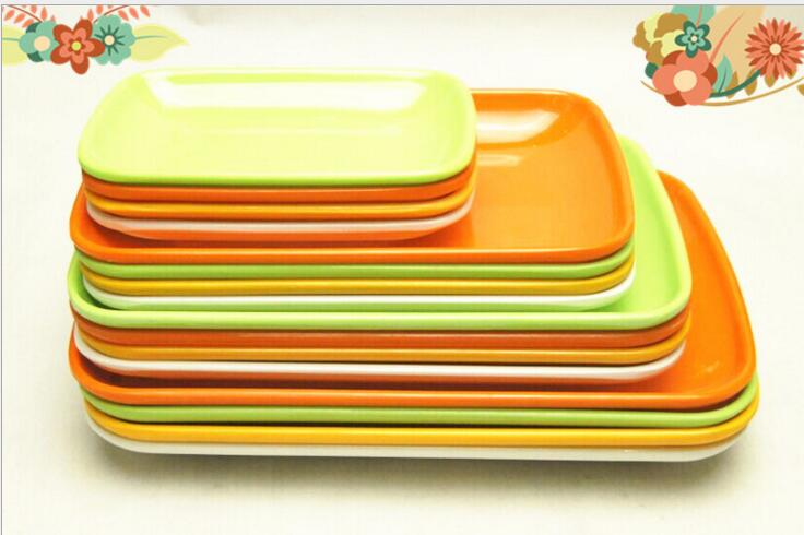 excellent melamine tableware series color powder dish rectangular plastic plate wholesale.  sc 1 st  Free Home Design and Home Decoration Gallery. & Melamine Plates. Trendy Melamine Dinner Plates. See Larger Image ...