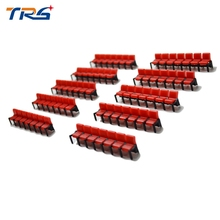 Teraysun 2017 New Arrival 20Sets Miniature Film Chair Model for Cinema 1:100 City Landscape Layout