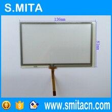 5.4 pulgadas 136*81mm panel de pantalla táctil original de pantalla universal 136mm * 81mm 054005