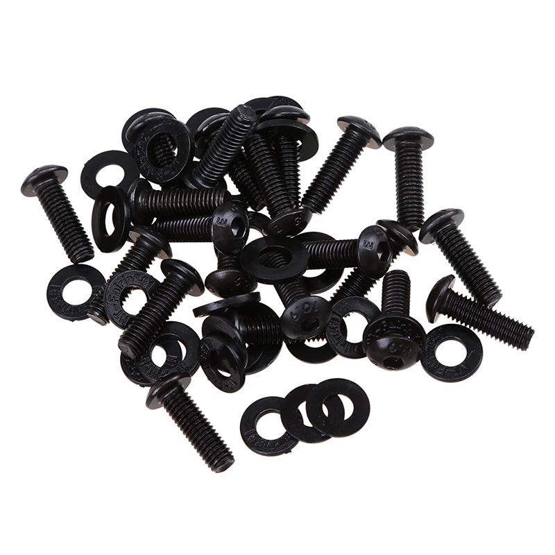 Aliexpress Com Buy Possbay Black Motorcycle Body Fairing Screw Set