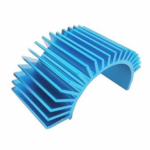 540 550 Motor Heatsink Heat Sink for RC Racing 1:10 1/10 Tamiya HSP Car Truck Buggy Aluminum brushless motor 540 electric inrunner motor for 1 10 rc car boat airplane hsp hi speed wltoys tamiya truck buggy car