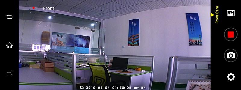 Free 32GB card+3G Car DVR+Android 5.0 Bluetooth GPS WIFI Dual lens rearview mirror camera+FHD1080P camara automovil Phisung H2 27