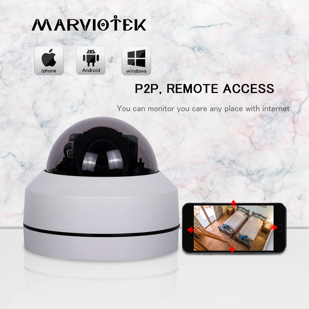 5MP 4X Optical Zoom Dome Camera Outdoor Waterproof 2.5 Mini IP PTZ Camera HD P2P 1080P IP Camera Outdoor Night Vision ONVIF