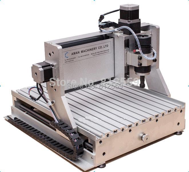 3040 cnc pöörleva teljega 3D graveerimis- ja - Puidutöötlemisseadmed - Foto 3